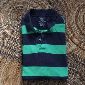 Faded Glory striped polo shirt